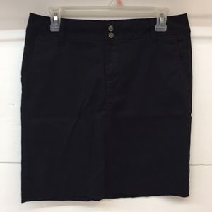 NWOT Dickies Black Midi Skirt Juniors Girl's